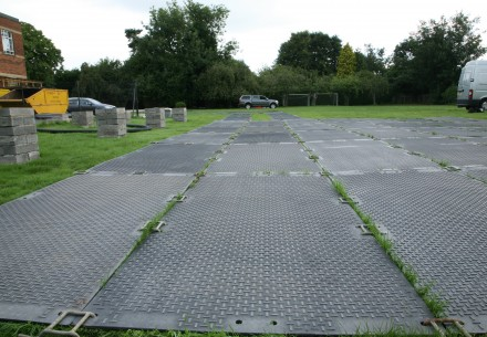 Ground-Guards ground protection temporary roadway | Ground Guards | Ground Protection Mats
