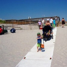 Ground-Guards Beach Mats / temporary road surface and walkway | Ground Guards | Ground Protection Mats