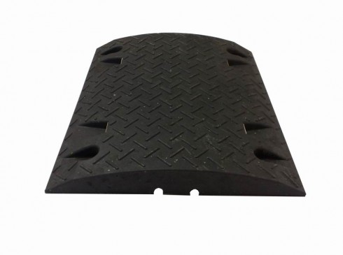 Single black module ground protection | Ground Guards | Ground Protection Mats