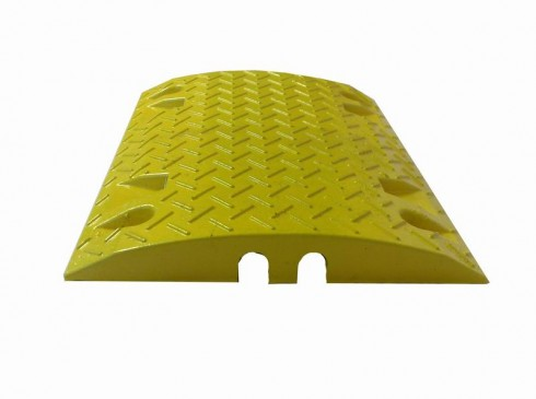 Single yellow module ground protection | Ground Guards | Ground Protection Mats