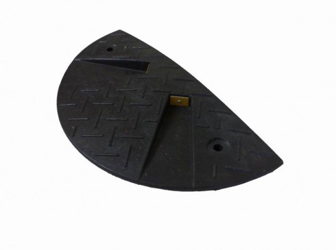 End ramp in black | Speed Bump | Ground Guards | Ground Protection Mats