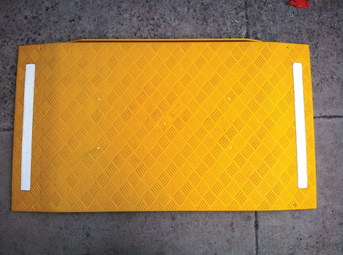Anti-Slip tread pattern on the Trench-Guards ground protection mats | Ground Guards | Ground Protection Mats