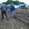 Ground-guards ground protection needed at a muddy event | Ground Guards | Ground Protection Mats