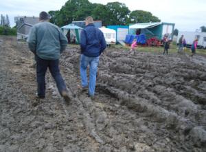 Ground-guards muddy event