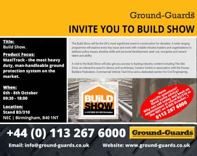 Ground-Guards Ltd Invite to the Rail Show