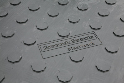Ground-Guards MaxiTrack - setting new standards in man-handleable ground protection solutions