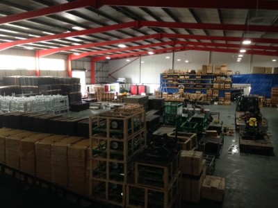 Ground-Guards' new warehouse