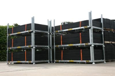 SafeStore stillage for easy, safe storage