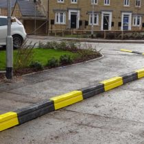 High visibility kerb protection