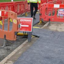 Safe site walkway
