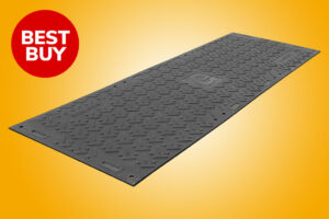 Roadway tread strong grip