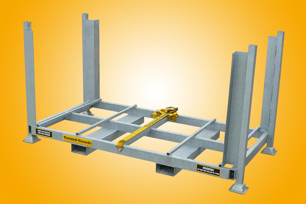 steel galvanised stillage