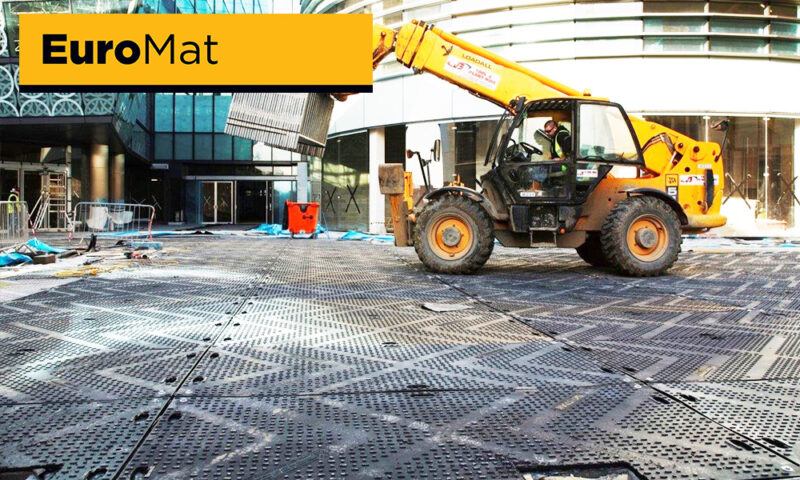 Block paving protection in city centre urban