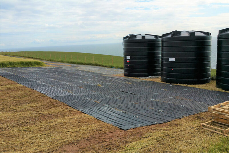compound site area remote access utilities
