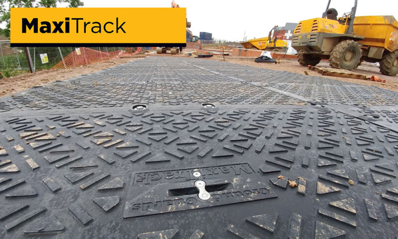 heavy duty temporary ground protection road construction building site
