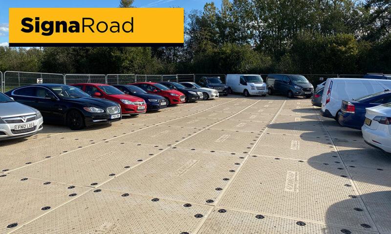 temporary compound & car park